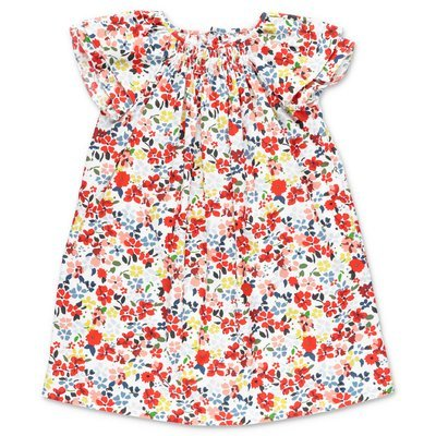 Bonpoint floral print cotton poplin dress