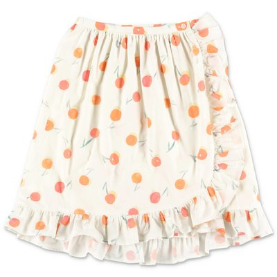 Bonpoint white skirt with Iconic cherries