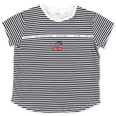 Bonpoint striped cotton jersey t-shirt