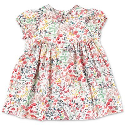 Bonpoint floral print cotton dress