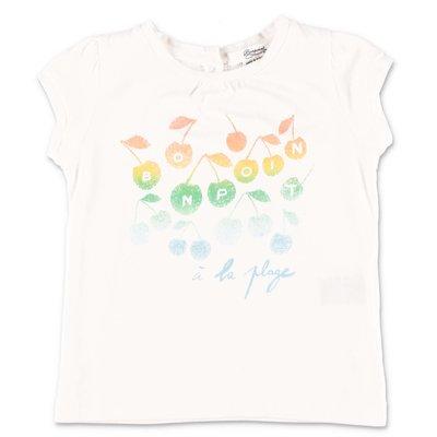 Bonpoint white cotton jersey t-shirt