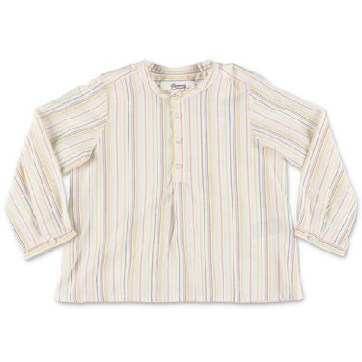 Bonpoint striped cotton poplin tunic