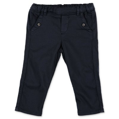Tartine & Chocolat navy blue cotton pants