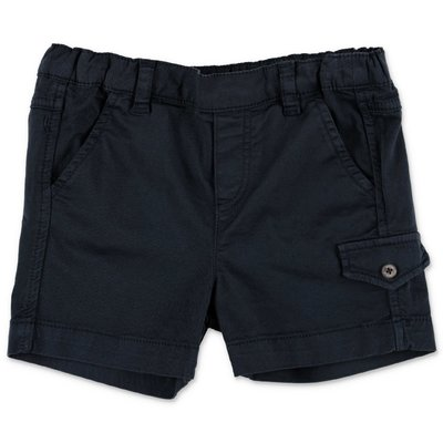 Tartine & Chocolat navy blue cotton shorts