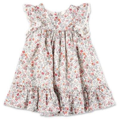 Tartine & Chocolat liberty print cotton muslin dress