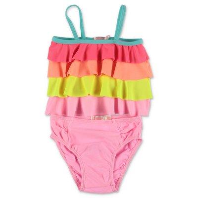 BillieBlush multicolor lycra two-piece swimsuit