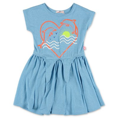 BillieBlush light blue cotton jersey dress