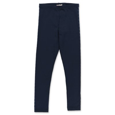 BillieBlush leggings blu in misto cotone stretch