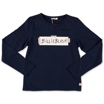 BillieBlush navy blue cotton jersey t-shirt