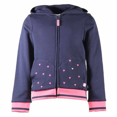Blue hoodie and sweatpants set