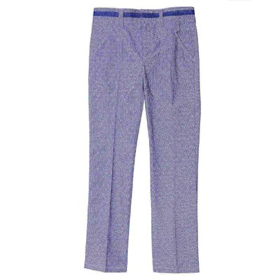 Light blue cotton gabardine pants