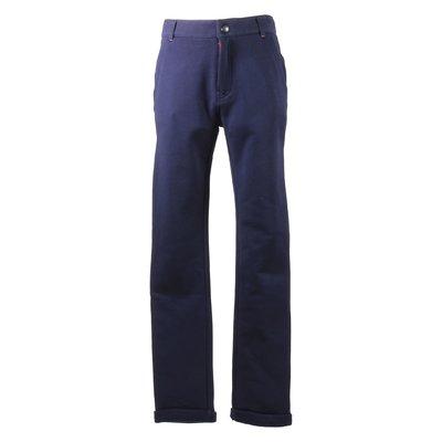 Pantaloni blu navy in cotone