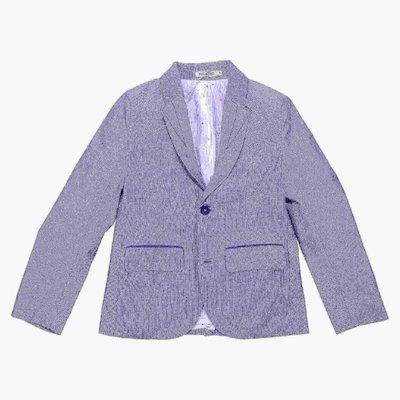 Light blue cotton gabardine jacket