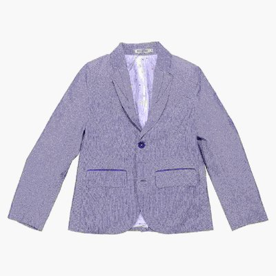 Light blue cotton gabardine jacket