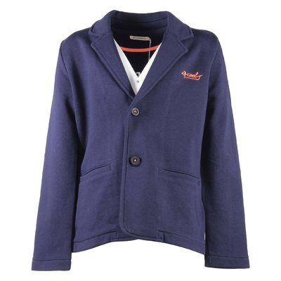 Navy blue cotton jacket