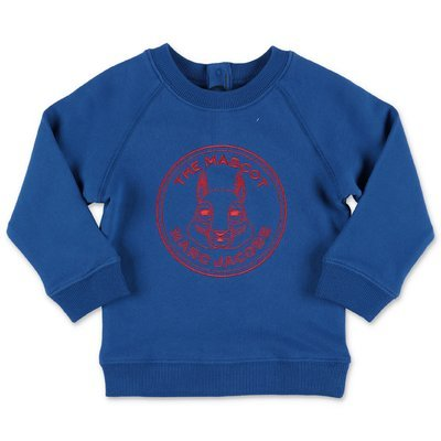 Little Marc Jacobs royal blue cotton sweatshirt