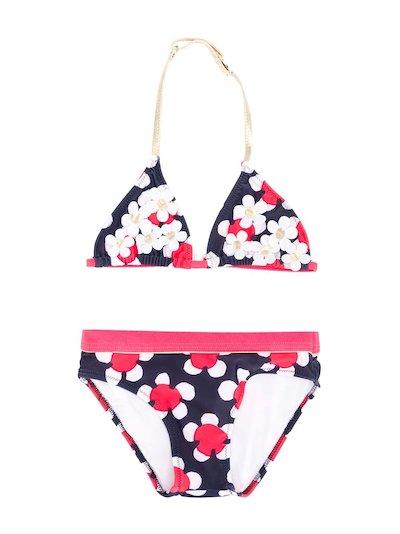 Printed nylon bikini