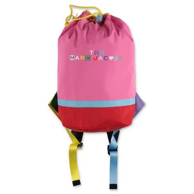 Little Marc Jacobs pink nylon backpack