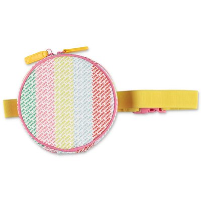 Little Marc Jacobs multicolor nylon round girl belt bag