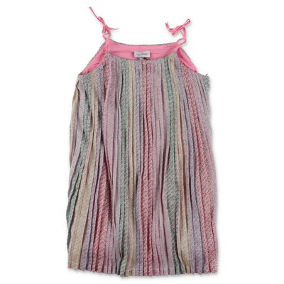 Little Marc Jacobs multicolor techno fabric techno fabric dress