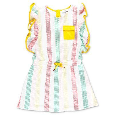 Little Marc Jacobs multicolor techno fabric dress