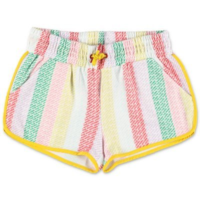 Little Marc Jacobs shorts multicolor in techno tessuto