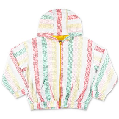 Little Marc Jacobs multicolor techno fabric hoodie