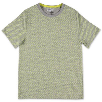 Little Marc Jacobs grey & yellow cotton jersey t-shirt