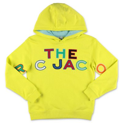 Little Marc Jacobs yellow cotton hoodie
