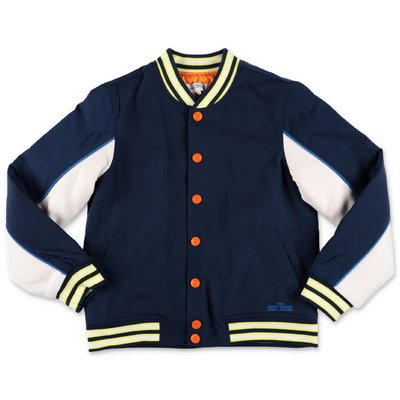 Little Marc Jacobs blue nylon jacket