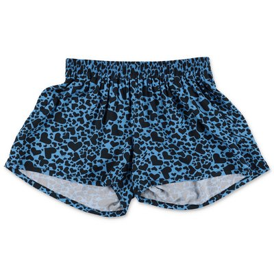 Zadig & Voltaire blue printed viscose shorts