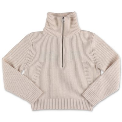 Zadig & Voltaire white wool blend knit jumper