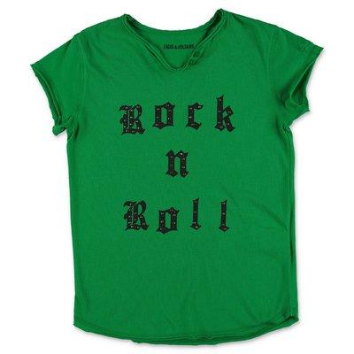 Zadig & Voltaire green cotton jersey t-shirt