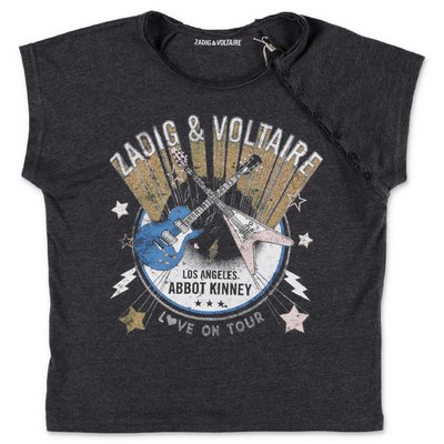 Zadig & Voltaire grey cotton jersey t-shirt