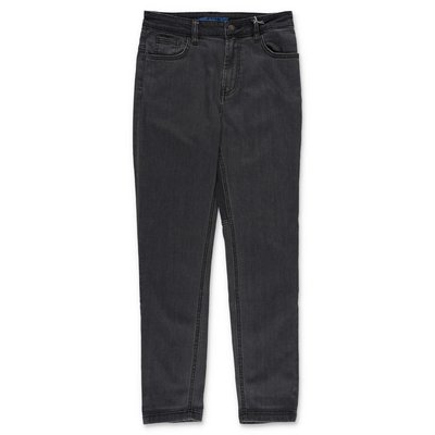 Zadig & Voltaire jeans grigi in denim di cotone stretch