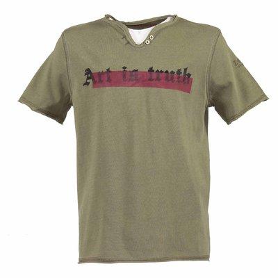 T-shirt verde militare