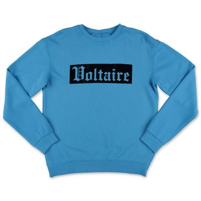 Little Marc Jacobs blue cotton sweatshirt