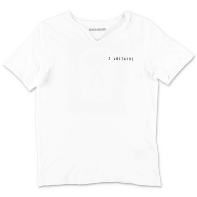 Zadig & Voltaire white cotton jersey t-shirt