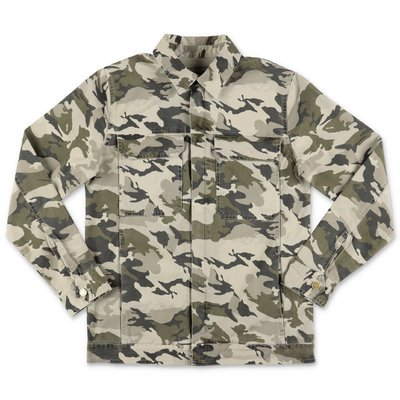 Zadig & Voltaire camouflage cotton denim jacket