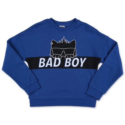 Karl Lagerfeld royal blue cotton sweatshirt