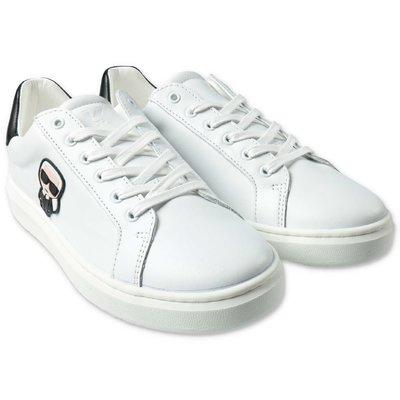 Karl Lagerfeld sneakers bianche con lacci