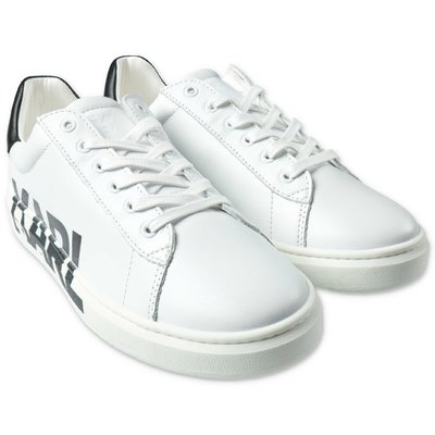 Karl Lagerfeld white sneakers with laces