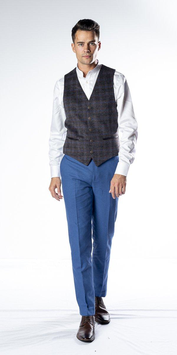 The Macbride  Tweed Waistcoat