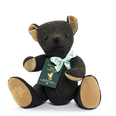 Original Celtic Ted Teddy Bear - Dark Green