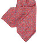 Red Cravat with Navy