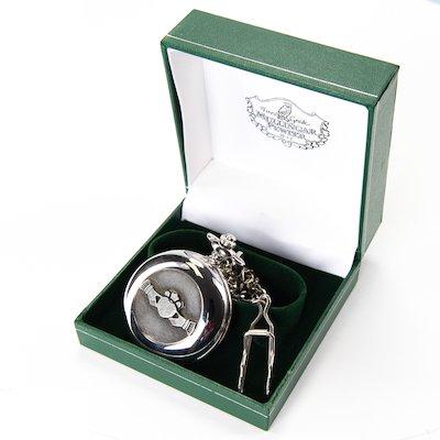 Claddagh Pocketwatch - Silver