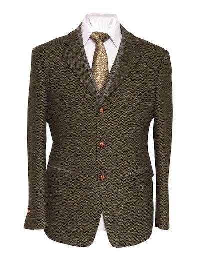 Casement Green Classic Fit Jacket