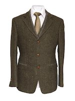 Casement Green Classic Fit Jacket