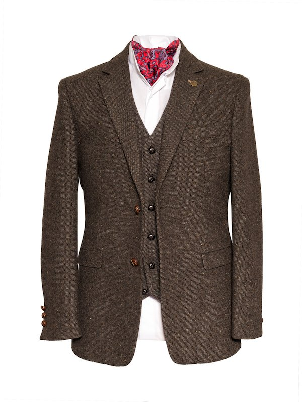 James Stephens Brown Poets Jacket - Brown