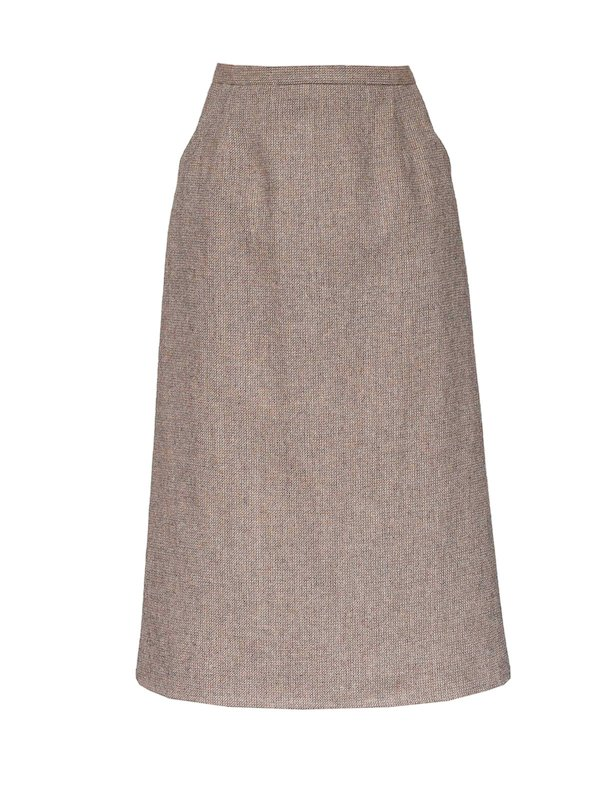OATMEAL ALINE SKIRT
